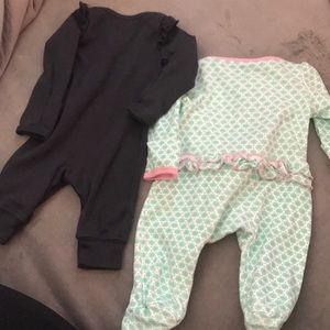 Carter's One Pieces - Newborn onesies
